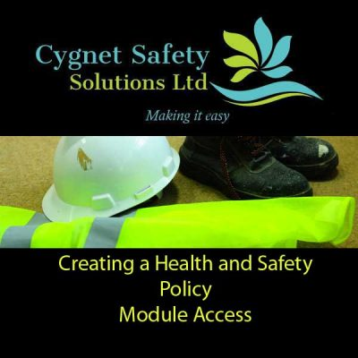 3. Creating a Health and Safety Policy - Module